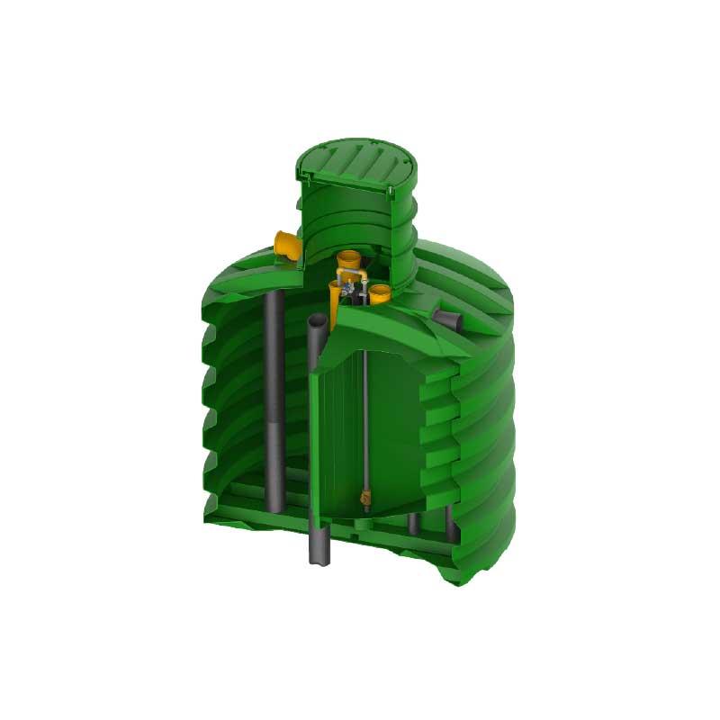 ROTO bioprečišćivać EcoBlue 4-6 PE