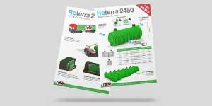 Banner letak ROTO RoTerra 2450