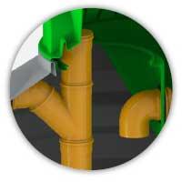 ROTO Rogre separator masti revizija na ulazu i izlazu