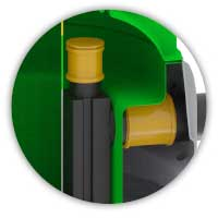 ROTO separator ulja Rooil klasa 1 revizija za uzimanje uzorka