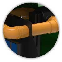 ROTO separator ultra Rosep obilazni vod 10% unutranji obilazni vod