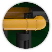 ROTO separator ultra Rosep obilazni vod 20% unutranji obilazni vod